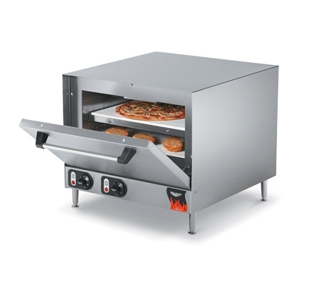 New Vollrath 40848 Countertop Electric Pizza Oven with 2 Ceramic Decks 208/240V