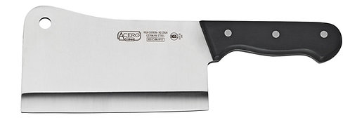 "New Winco Acero KFP-72 Extra Heavy Duty Cleaver 7""L x 4⅜""W Blade"