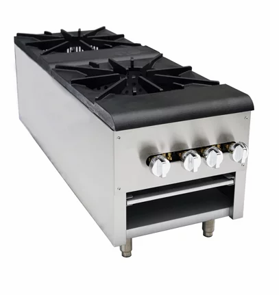 "New Cookline CSP-2 (18"") Double Stock Pot Burner 220,000 BTU"