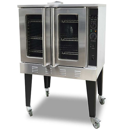 """New Cookline CC-100 38"""" Gas Single Deck Convection Oven"""