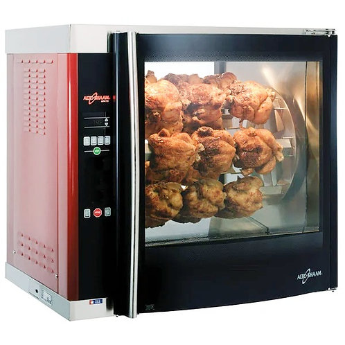 New Alto-Shaam AR7E Double Pane Rotisserie Oven with 7 Spits - 208V, 3 Phase