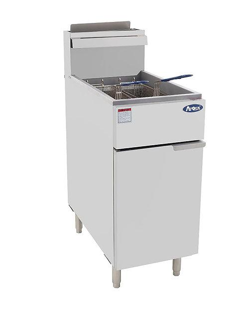 New CookRite 50 LB Deep Fryer NAT Gas Model ATFS-50 NAT
