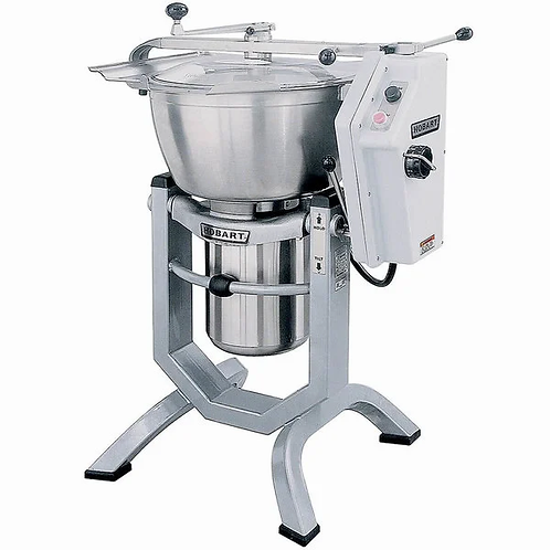 New Hobart HCM450-3 45 Qt. Vertical Cutter / Mixer with Knife & Knead Attachment