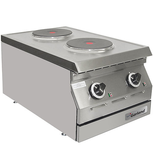 "New Garland ED-15THSE Designer Series 15"" Two Burner Electric C/Top Hotplate"