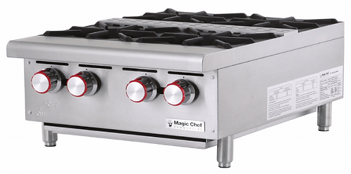 New Magic Chef MCCHP24A (4) Heavy Duty Hotplate Natural Gas