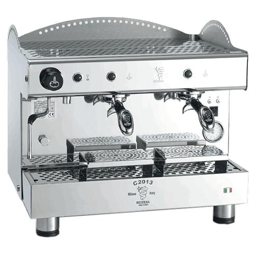 New Ampto Bezzera C2013PM2IS3 Double Semi-Automatic Espresso Machine
