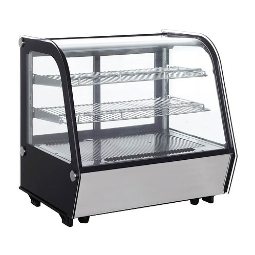 """New Marchia MDC121 28"""" Refrigerated Countertop Bakery Display Case with LED"""