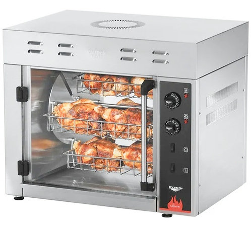 New Vollrath 40841 Countertop Rotisserie Oven (15 Chickens) 208/240V 1 Phase