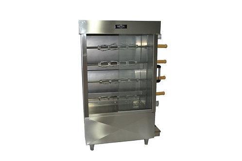 New Metal Supreme FRG4VE Gas Chicken Rotisserie -16 Chicken