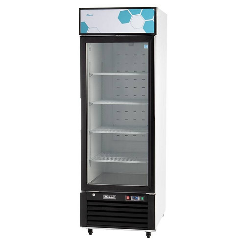 New Migali C-23RM-HC 23 cu/ft Glass Door Merchandiser Refrigerator
