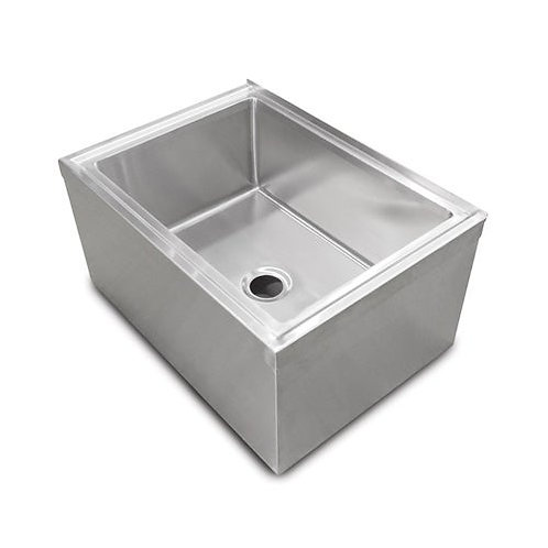 New John Boos PBMS2016-12 - Mop Sink, floor mounted, 24-5/8 x 19-3/8 x 16 inch