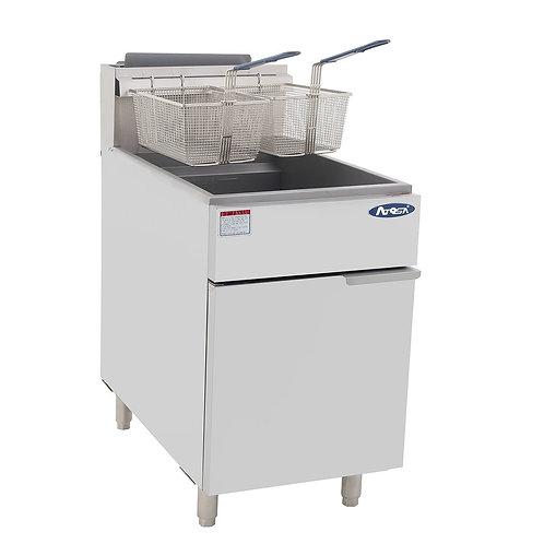 New CookRite ATFS-75 NAT Fryer, gas, floor model, 75 lb. capacity