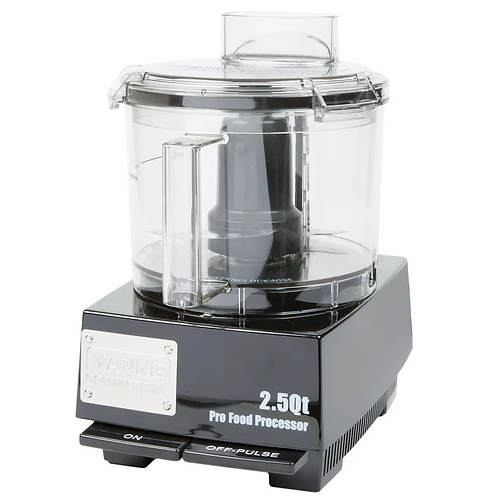 New Waring WFP11SW Food Processor with 2.5 Qt. Bowl - 3/4 hp