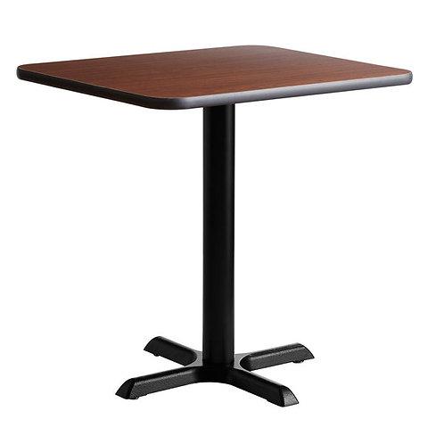 """New 24"""" x 30"""" Walnut / Oak Seating Table"""