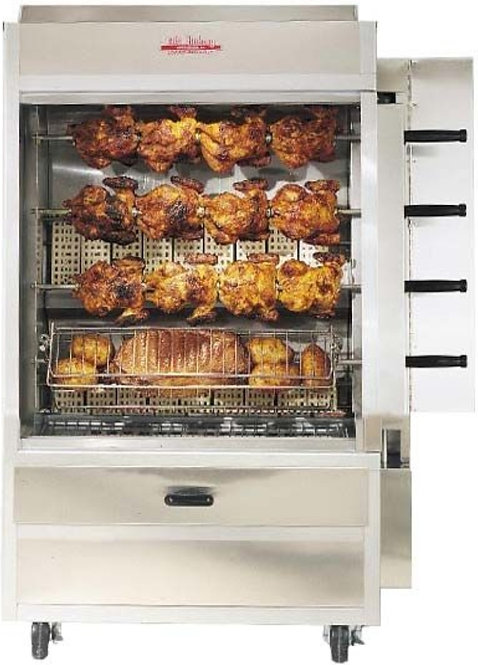 New Old Hickory N4G 20 Chicken Commercial Rotisserie Oven Machine, Natural Gas