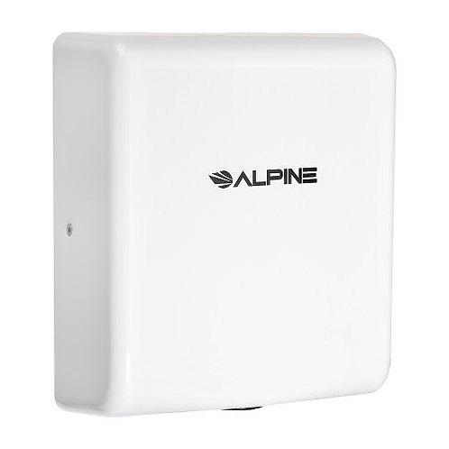New Alpine 405-10-WHI Willow High Speed Commercial Hand Dryer, 120V, White