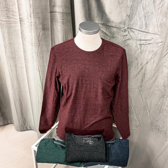 Langarmshirt, Marvelis rot, grün, schwarz, blau