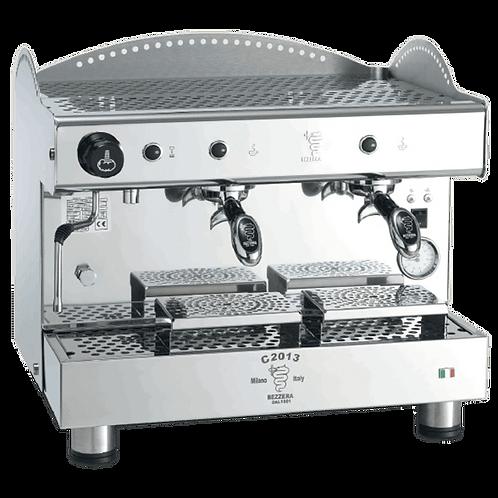 New Ampto Bezzera C2013PM2IS4 Double Semi-Automatic Espresso Machine