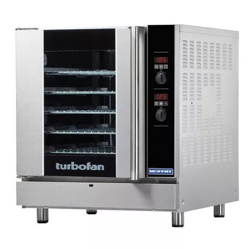 Moffat E32D5 Turbofan® Single Full Size Electric Convection Oven - 5.6kW, 208v/1