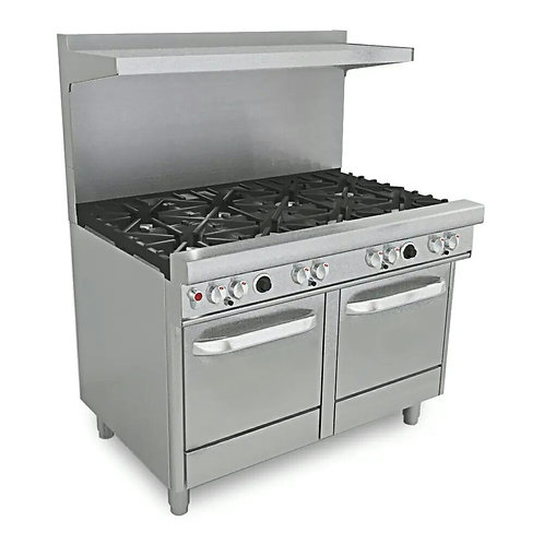 New Connerton Cooking CN48-8-2OV 8 Burner Range With Two Standard Ovens