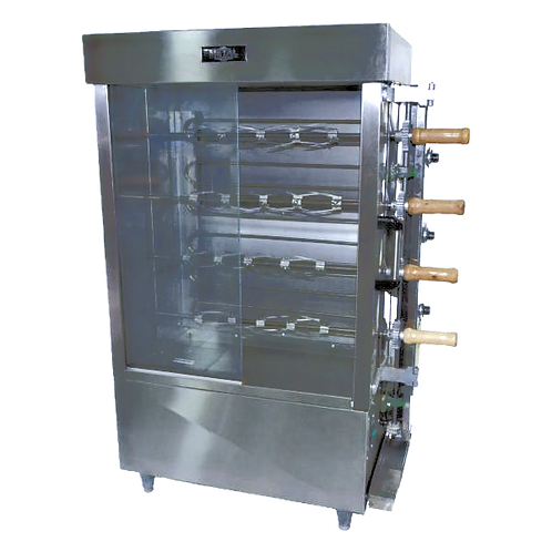 New Electric Chicken Rotisserie FRE4VE - 16 Chicken by Metal Supreme