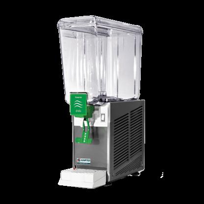 New AMPTO D1156 5 Gallon Cold Beverage Dispenser