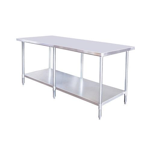 "New 30"" X 72"" Stainless Steel Work Table W/ Galvanized Under Shelf"