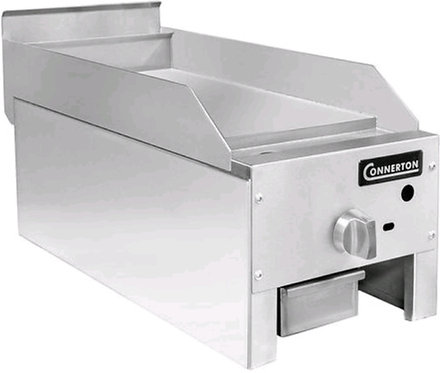 "New Connerton CG-12-M (12"") Manual Flat Griddle 1"" Grilling Plate Thickness NG"