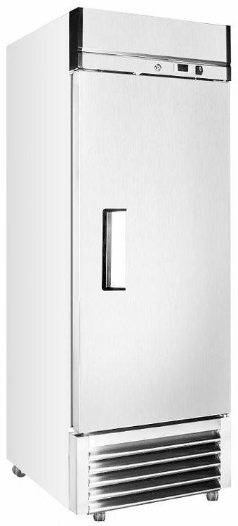 New Genkraft GST23-BF Single Solid Stainless Steel Door Freezer, 23 Cubic Feet
