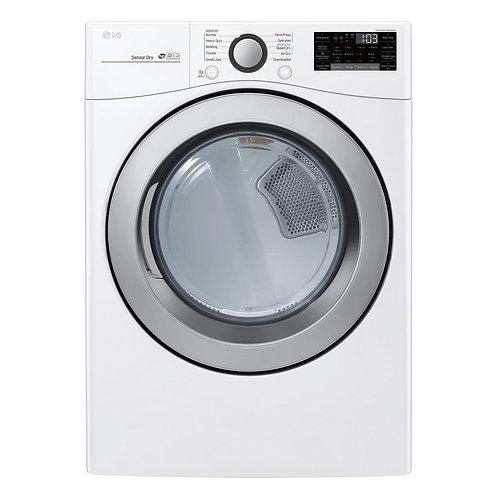 New LG TurboSteam Series DLEX3700W Laundry Dryer