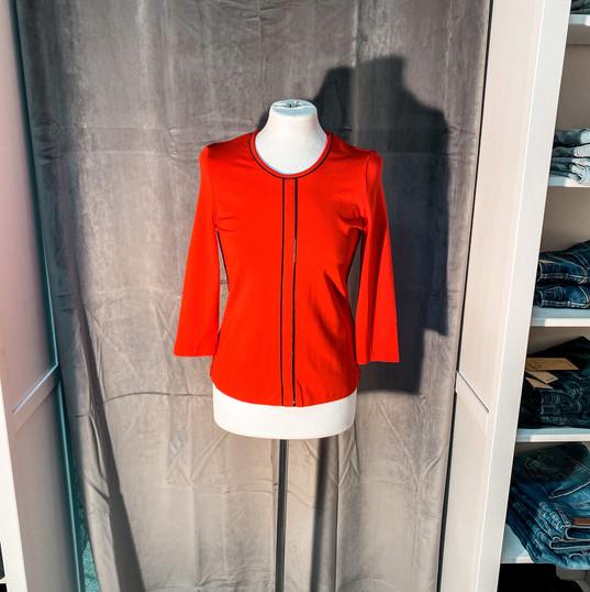 Sweatshirt, Barbara Lebek rot