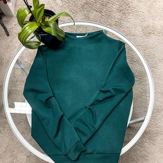 SuZa, Pullover dunkelgrün