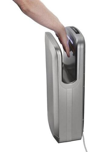 New Alpine ALP404-GRA OAK High-Speed, Surface-Mounted, Hands-In Hand Dryer