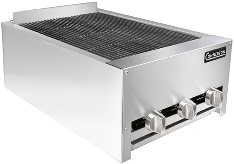 "New Connerton CRB-18 (18"") Heavy Duty Radiant Charbroiler NG"