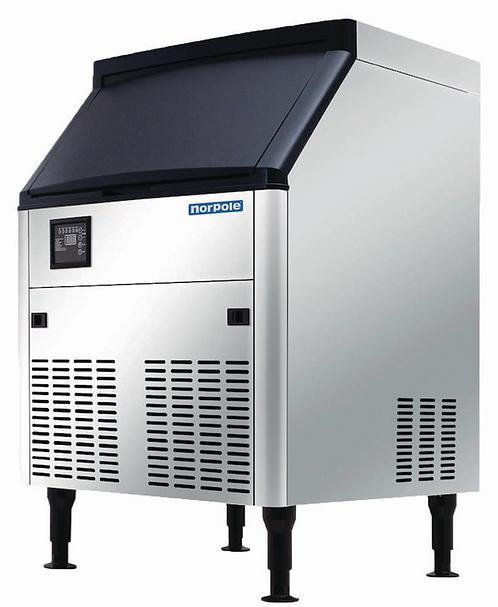 New Norpole NPCIM160H (160 LB) Ice Machine, Air Cooled, Half Cube Style