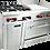 "Thumbnail: New Connerton CN48-4-24G  4 Burner Range 24"" Flat Griddle   1 Standard Oven NG"