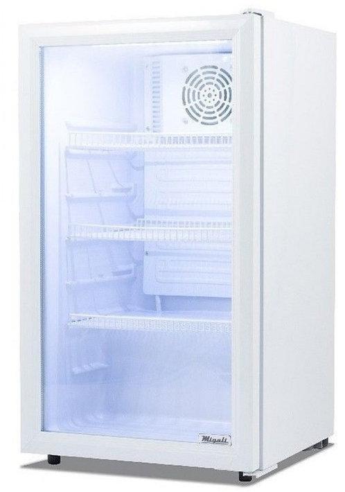 New Migali C-04RM 4 cu/ft Glass Door Merchandiser Refrigerator