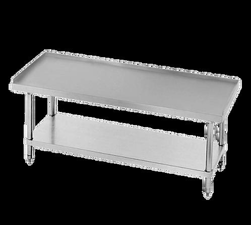 "New Prepline PES-3072 (30"" X 72"") S/S Top Galvanized Undershelf Equipment Stand"