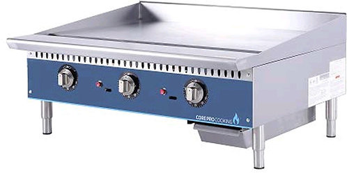"""New Core Pro 36"""" Electric Thermostatically Controlled Flat Griddle 208V/1PH"""