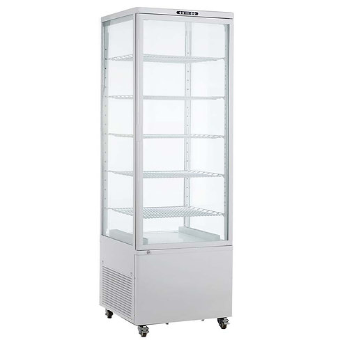 New Marchia MVS500 69″ Vertical Refrigerated Glass Cake Display Case