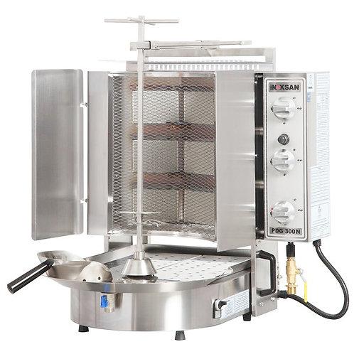 New Inoksan PDG300NM-NAT, 132 Lbs Natural Gas Gyro Machine, Bottom Motor
