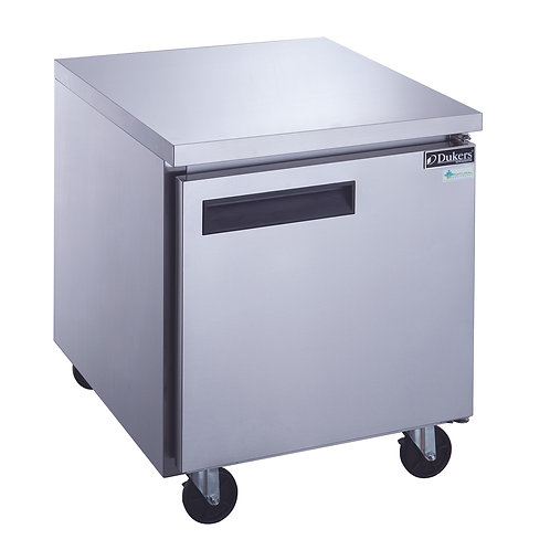 New Dukers DUC29F 7 cu. ft. Single Door Undercounter Freezer Stainless Steel