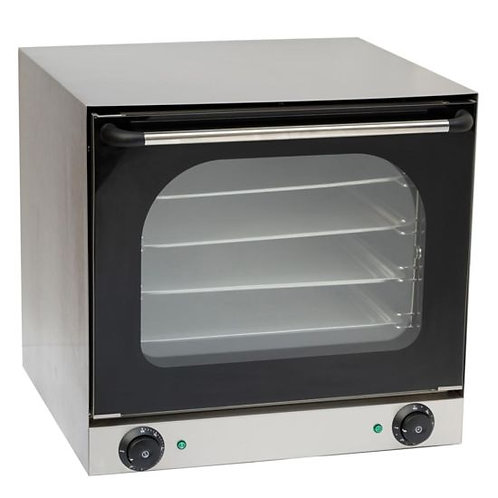 """New Cookline CSD-1AE 23"""" Half Size Electric Countertop Convection Oven, 220-240V"""