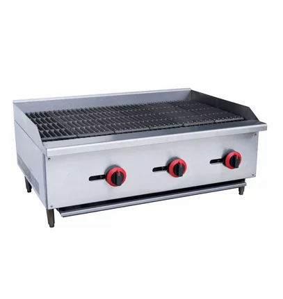 """New Cookline CCB-36 (36"""") Radiant Charbroiler Griddle"""