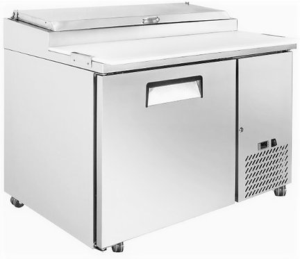 "New Genkraft GPP-47 (47"") Pizza Prep Table In Stainless Steel"