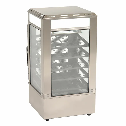 Antunes SDC-500 - Steamer Display Cabinet, steams pre-cooked food, (5) shelves