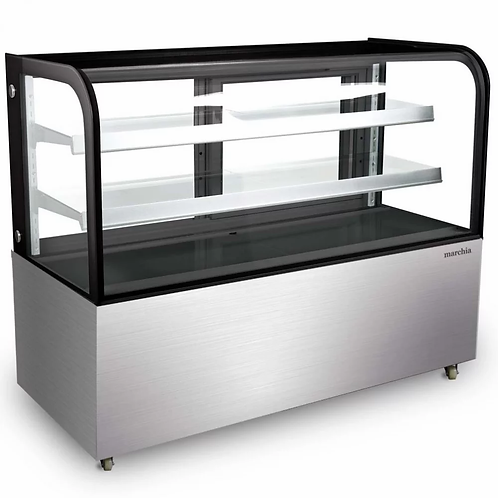 "New Marchia MB60 (60"") Bakery Case Curved Glass"