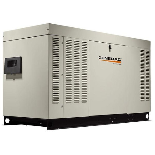 New Generac 60 KW 120-Volt/240-Volt Liquid Cooled Standby Generator Single Phase