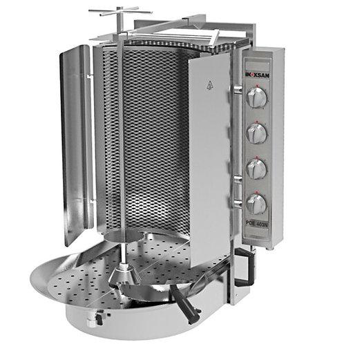 New Inoksan PDE 403N Electric Vertical Broiler Gyro Machine, Robax Glass 165 Lb