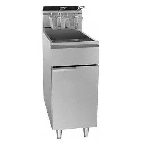 New Cookline UF-40E 16″ Electric 40 lb. Commercial Deep Fryer – 240v